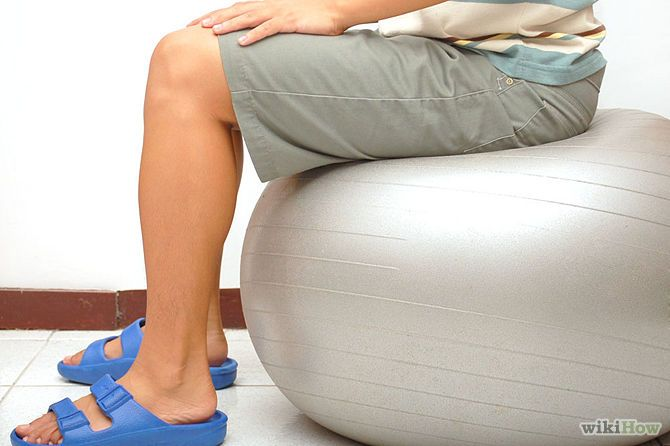 How To Use Exercise Ball As Chair