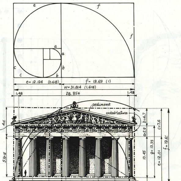 Golden Rule Architecture the parthenon is known to exhibit proportions that approximate the