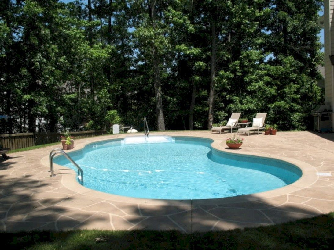 61 Cool Ideas For Kidney Shaped Pools Kidney Shaped Pool