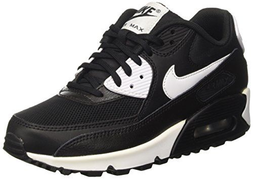 Nike Damen Air Max 90 Essential Sneakers Weiß (Summit White