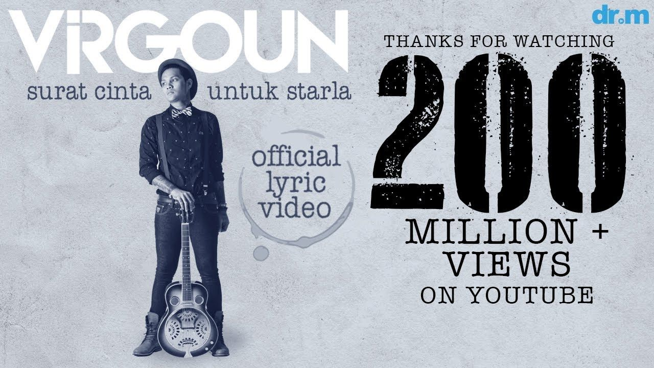 Virgoun Surat Cinta Untuk Starla Official Lyric Video Lagu