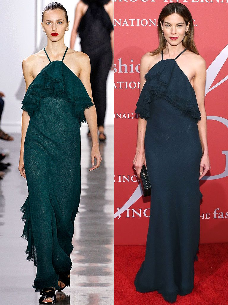 Michelle monaghan in jason wu fashionicon pinterest michelle