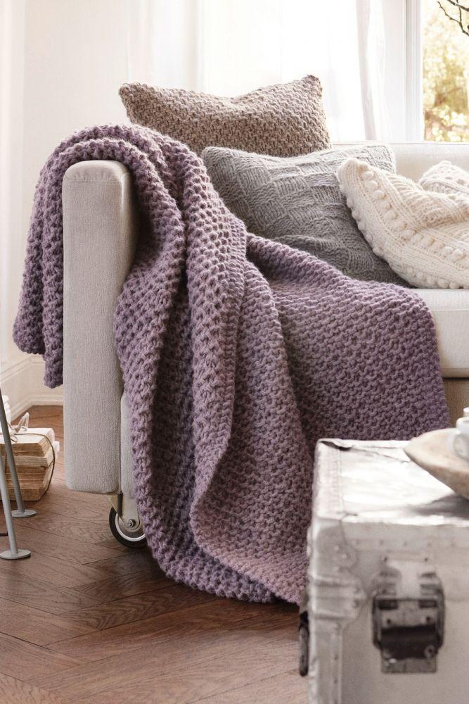 kostenlose anleitung kuscheldecke initiative handarbeit stricken h keln stricken und. Black Bedroom Furniture Sets. Home Design Ideas