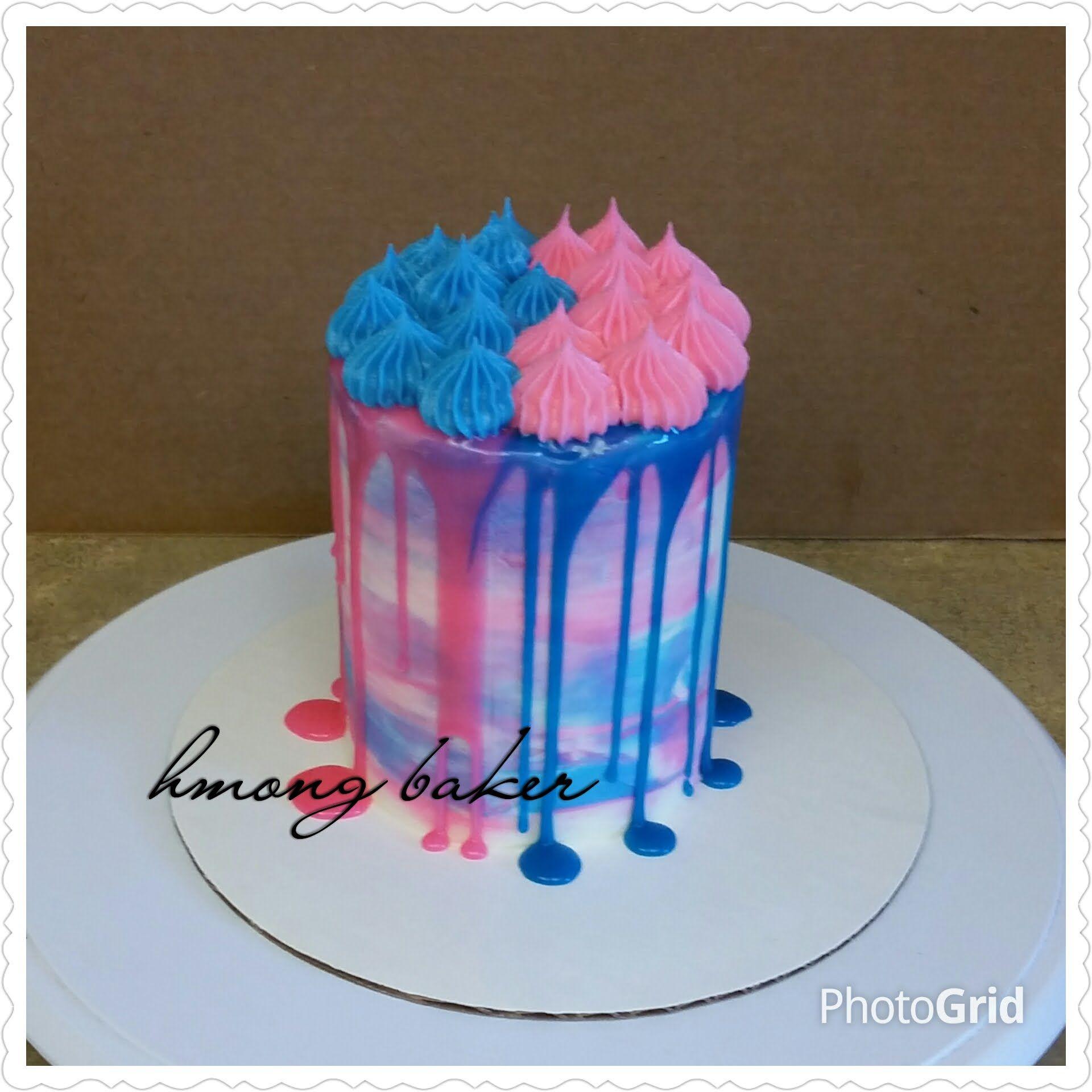 Baby Shower Cake. Cake Decorating
