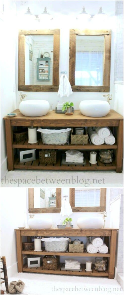 Photo of 20 Gorgeous DIY Bathroom Vanities to Beautify Your Beauty Routine