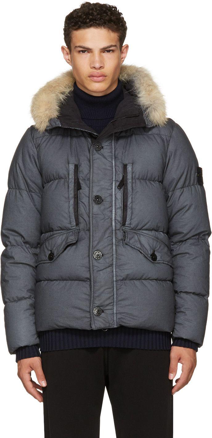 Stone Island Grey Down Puffer Jacket Modesens Puffer Jackets Stone Island Clothing Jackets [ 1420 x 688 Pixel ]