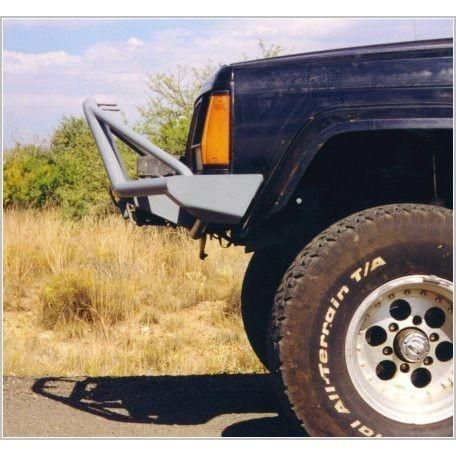 Xj Cherokee Front Bumper With Stinger Tube Style Jeep Cherokee