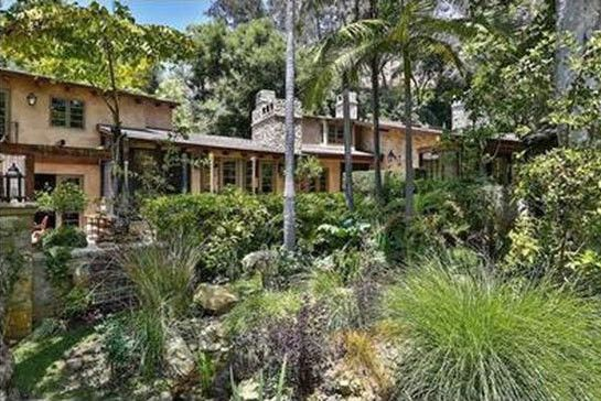 J.Lo's home was designed by famed architect Samuel Marx in the French Country-style.