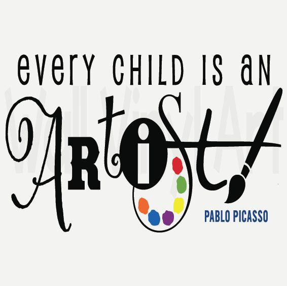 Every Child is an artist saying Saying Vinyl by ...