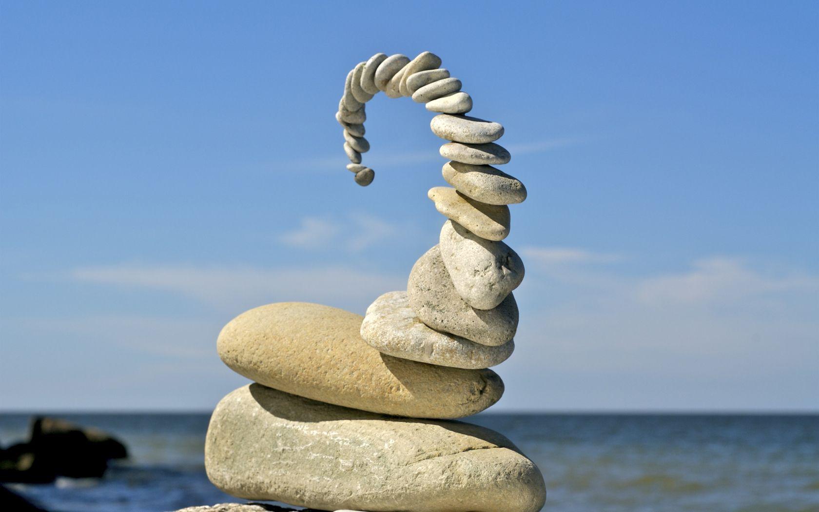 Stacking Rocks Feng Shui Art Stone Art Rock Sculpture
