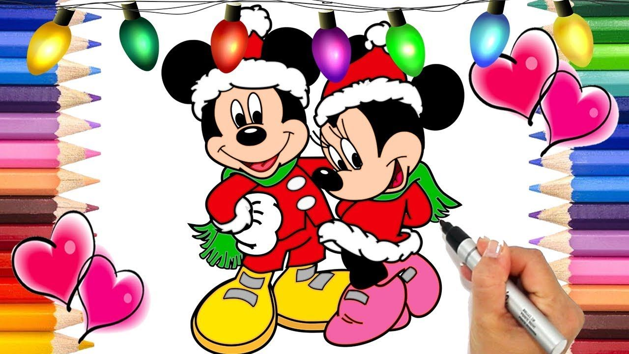 Mickey Mouse Christmas Coloring Pages Mickey And The Roadster