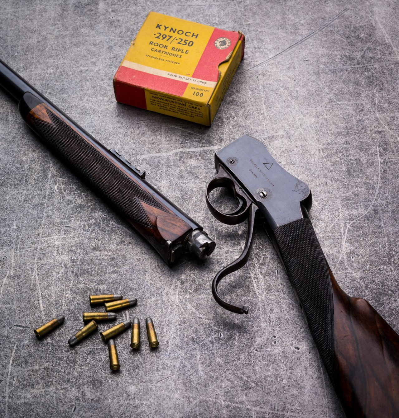 Westley Richards Sherwood Miniature Rook Rifle One Shot