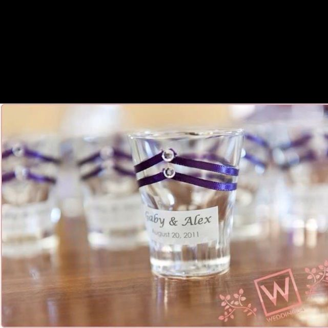 Diy Wedding Favors For The Guest Who Doesn T Like A Shot