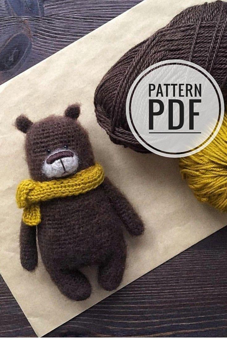 Bear Patrick pattern pdf #crochetbearpatterns