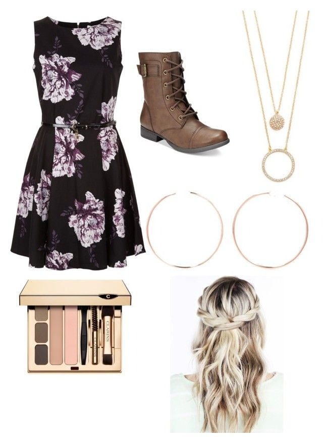 """""""February party"""" by bunnydaisy on Polyvore featuring American Rag Cie, Anita Ko and Kate Spade"""