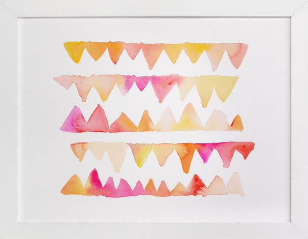 Zig Zag by sue prue at minted.com