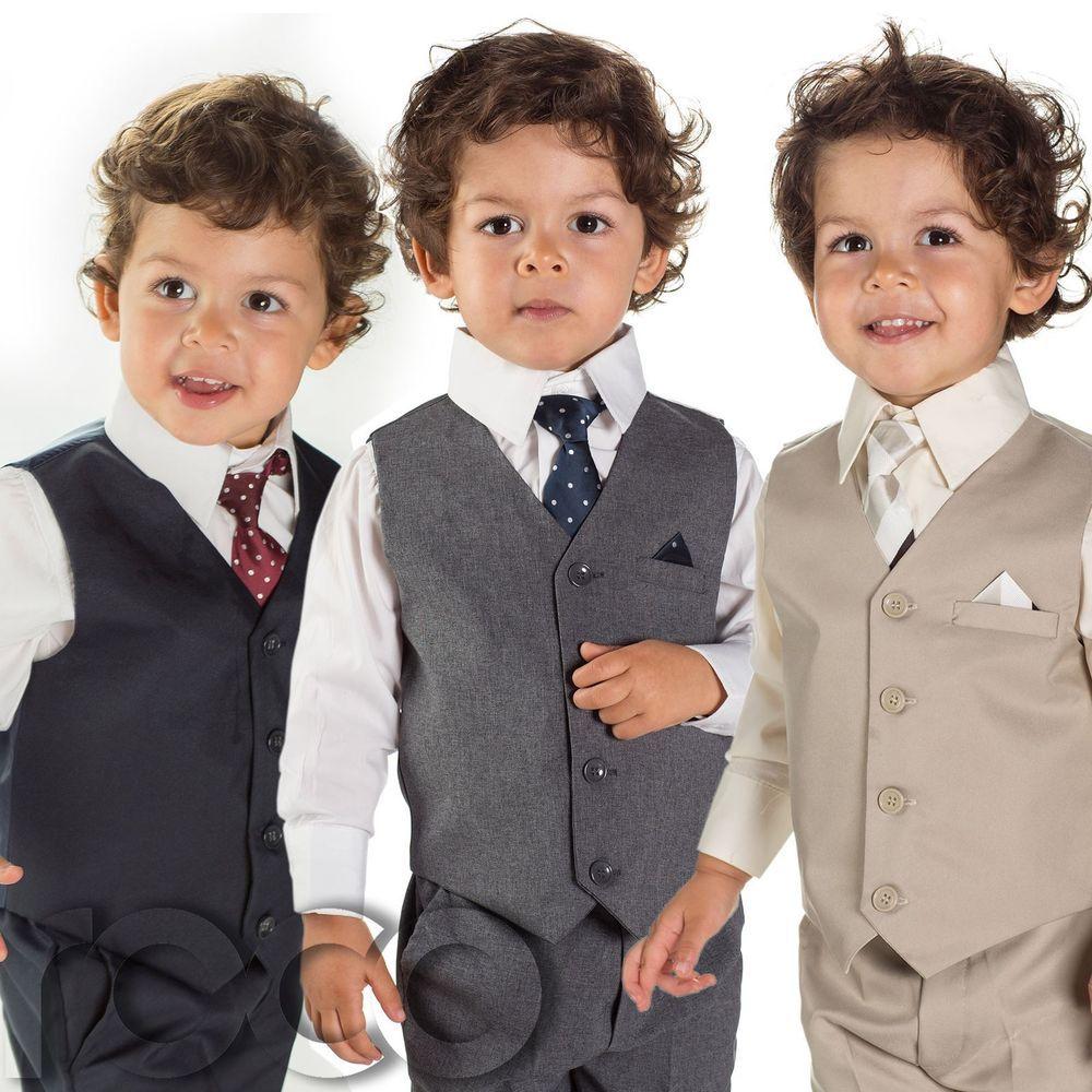 Boys Page Boy Suits, Grey Suits, Navy Suit, Beige Suit, Boys ...