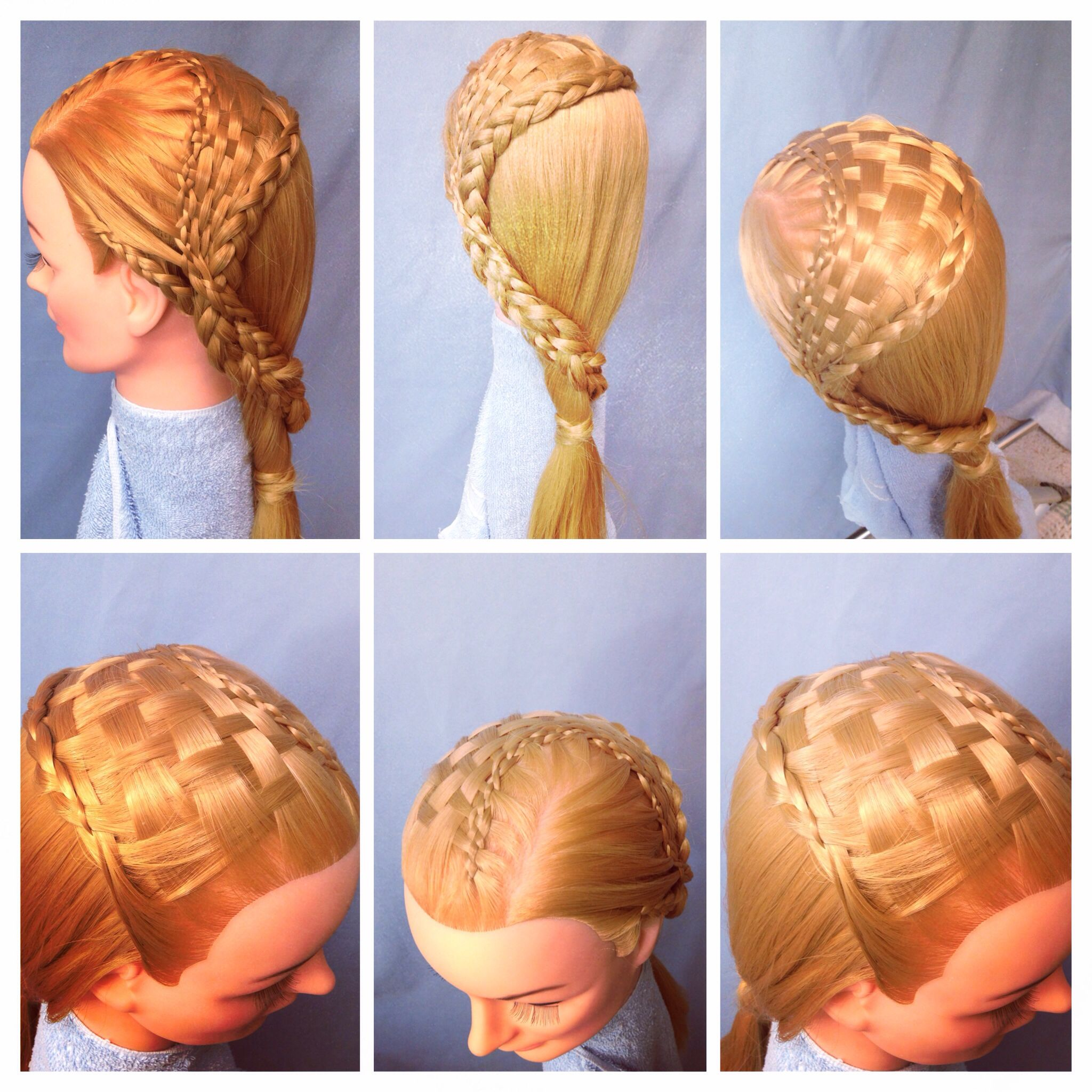 Yellow brick road #braid #basketweave #hair #braids