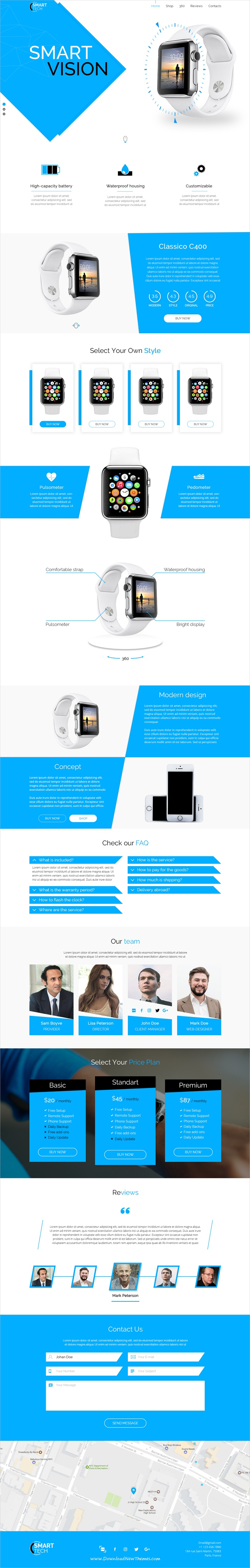 Smart tech is clean and modern design #Photoshop template for product #landing page website download now >  https://themeforest.net/item/smart-tech-psd-template/19995901?ref=Datasata