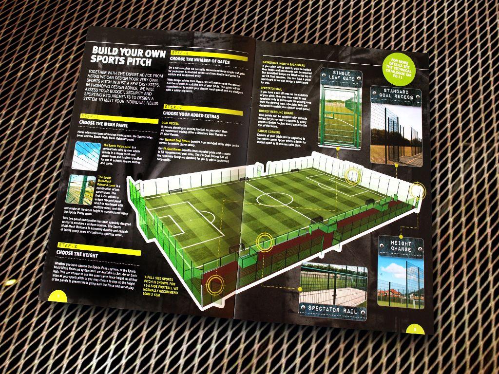 Heras Sports Brochure Design  Print Design    Brochures