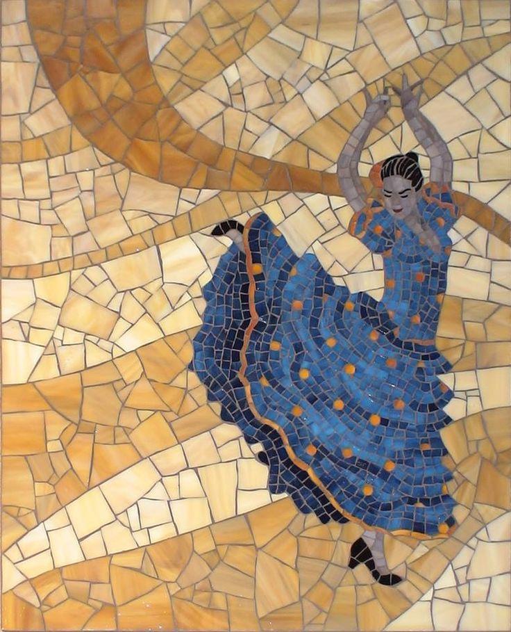 Fiesta By Christine Brallier Mosaic Art Mosaic Tile Art Mosaic