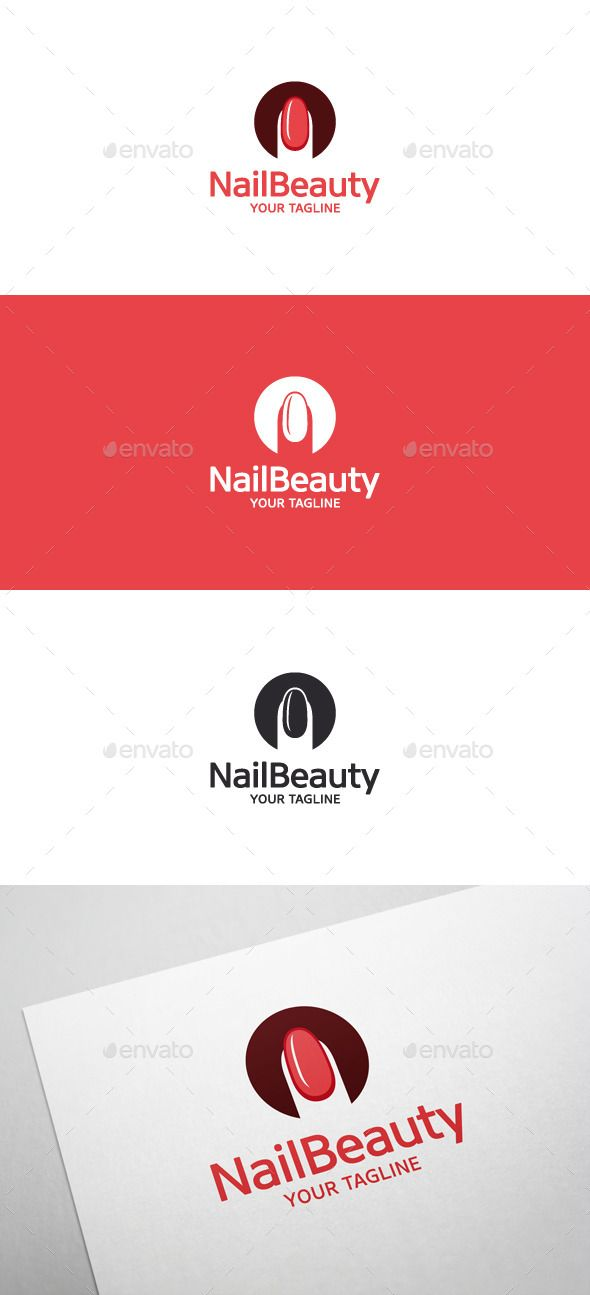 Nail Beauty Logo • Nail Art | Beauty logo, Template and Logos
