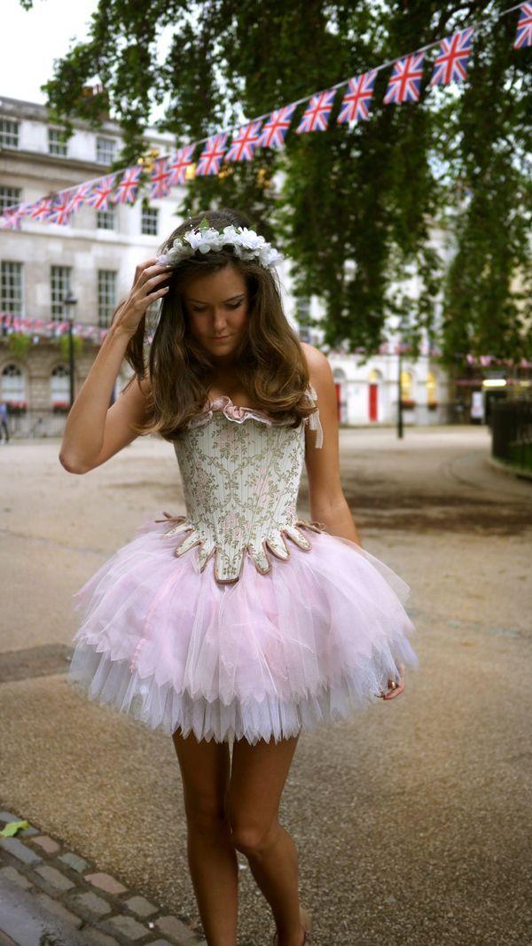 A Georgian Fairytale Georgian and Angel fancy dress - angel halloween costume ideas