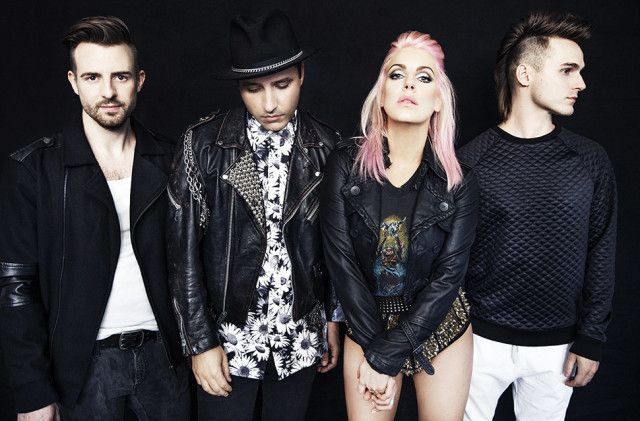 Electronic pop four-piece Five Knives premiere 'Sugar' video on MTV