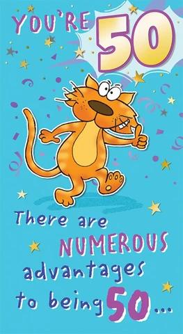 Funny 50th Birthday Card Man 50th Birthday Cards 50th Birthday Funny Birthday Cards
