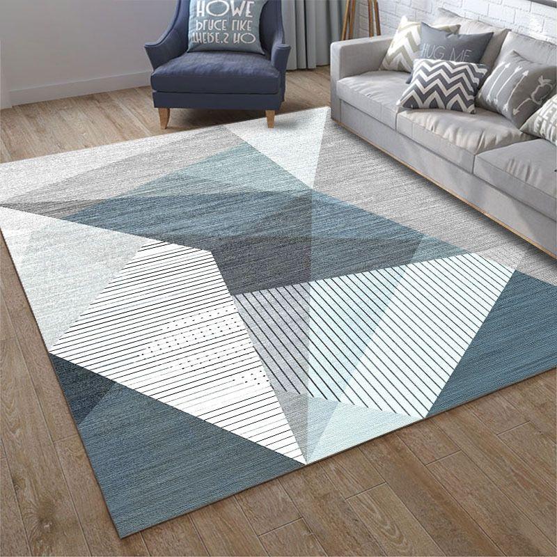 Multiple Sizes Geometric Living Room Carpet Area Floor Mat Non Slip Decorative Rug Bedroom Study Rugs Modern Carpets Kitchen Mat Living Room Carpet Rugs In Living Room Geometric Living Room