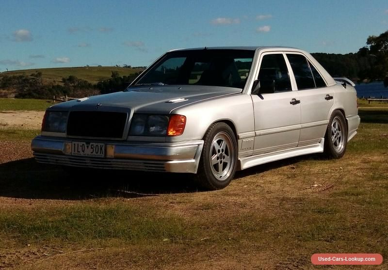 Car For Sale Mercedes Benz 1987 230e Rare Zender Sports Body Kit And Mag Wheels