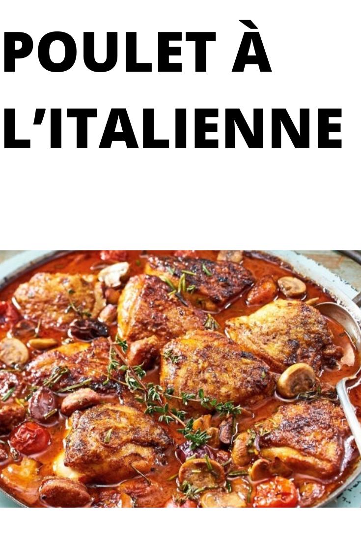 POULET À L'ITALIENNE