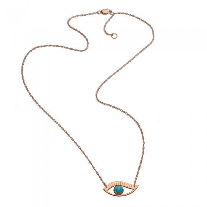 Priscilla Mini Turquoise Necklace - Authentic Jennifer Zeuner Default Category