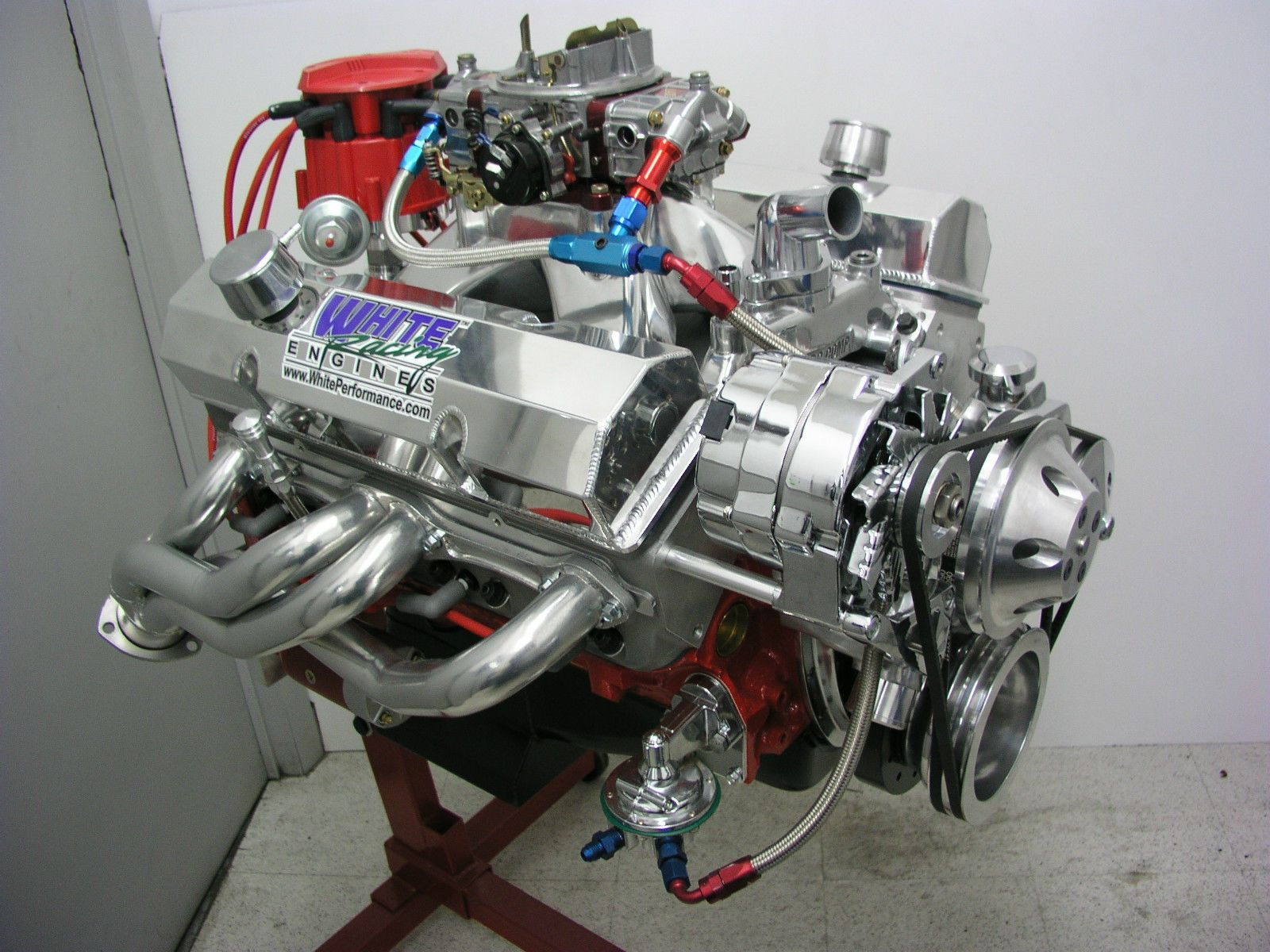 Details about sbc 383 stroker engine hyd roller cam 450 hp