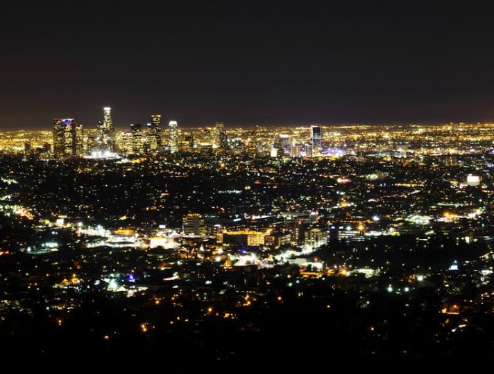A Carpet Of Lights Discover Los Angeles Los Angeles Sights Cities In Los Angeles Los Angeles