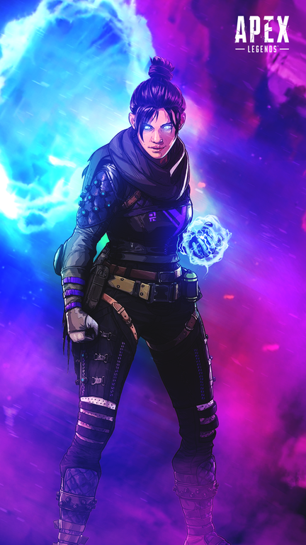 You Loved My Bangalore Phone Wallpaper So Heres One For Wraith Enjoy Apexlegends Legend Games Legend Apex