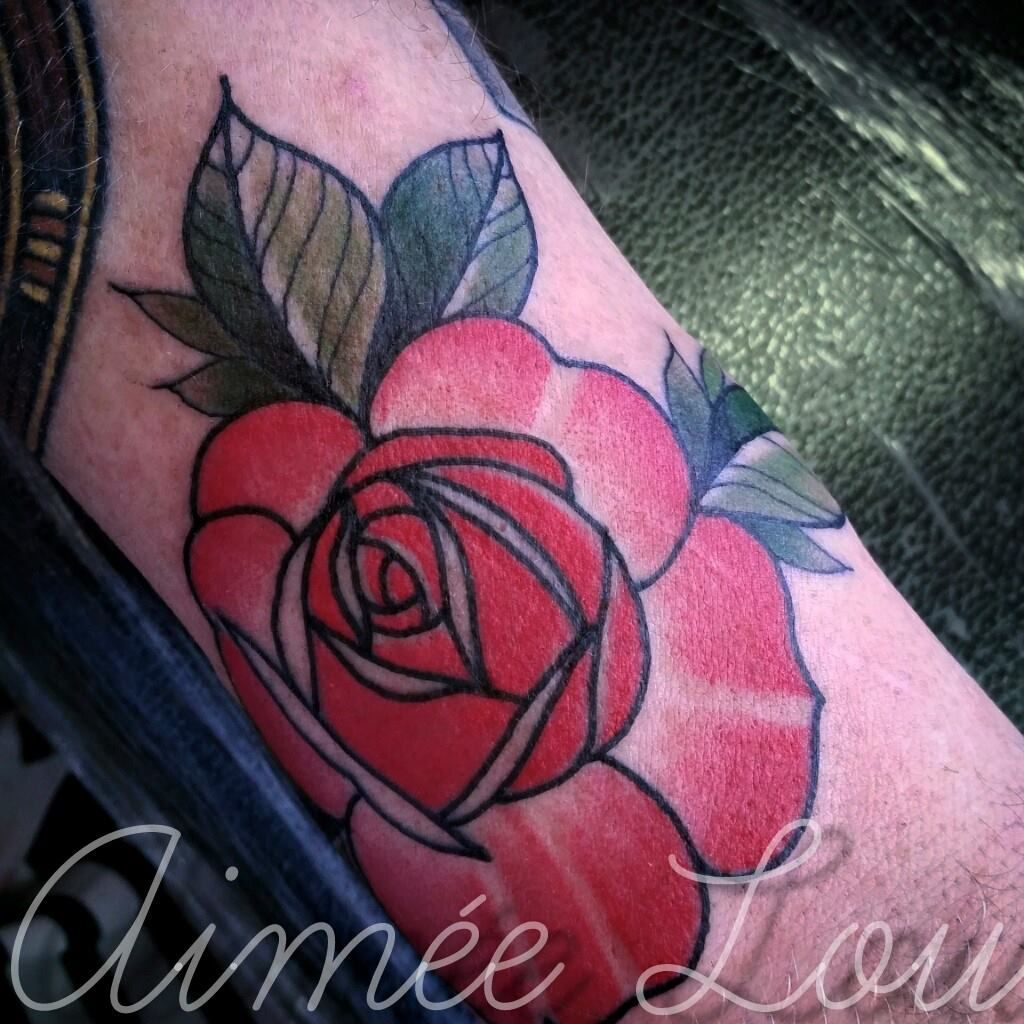 Rose by aimee lou tattoos pinterest tattoo