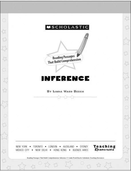 Reading Passages That Build Comprehension: Inference ...