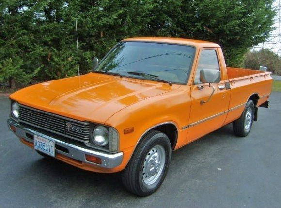 1979 Toyota Pick Up Truck Longbed Front Memories