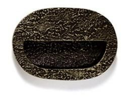 Modern Objects Tree Bark Flush Mount Cabinet Pull from Cabinet ...