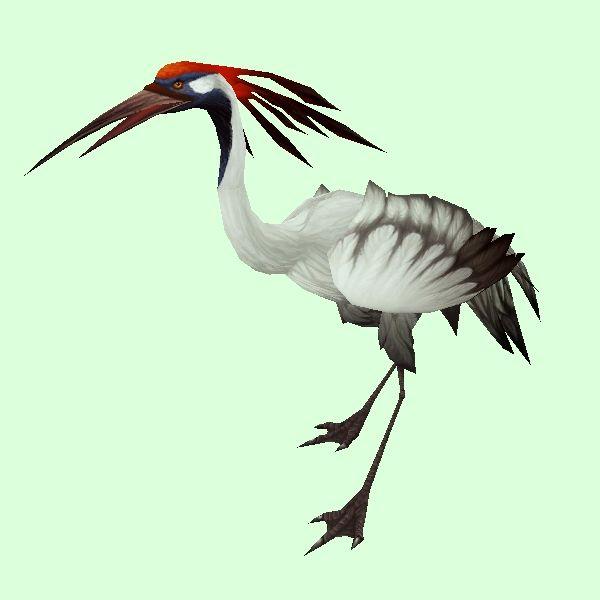 White Crane White crane, World of warcraft, Alex craft