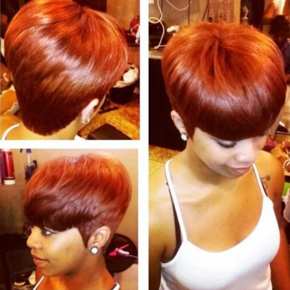 that color is hot!!! | natural and cute hairstyles | pinterest