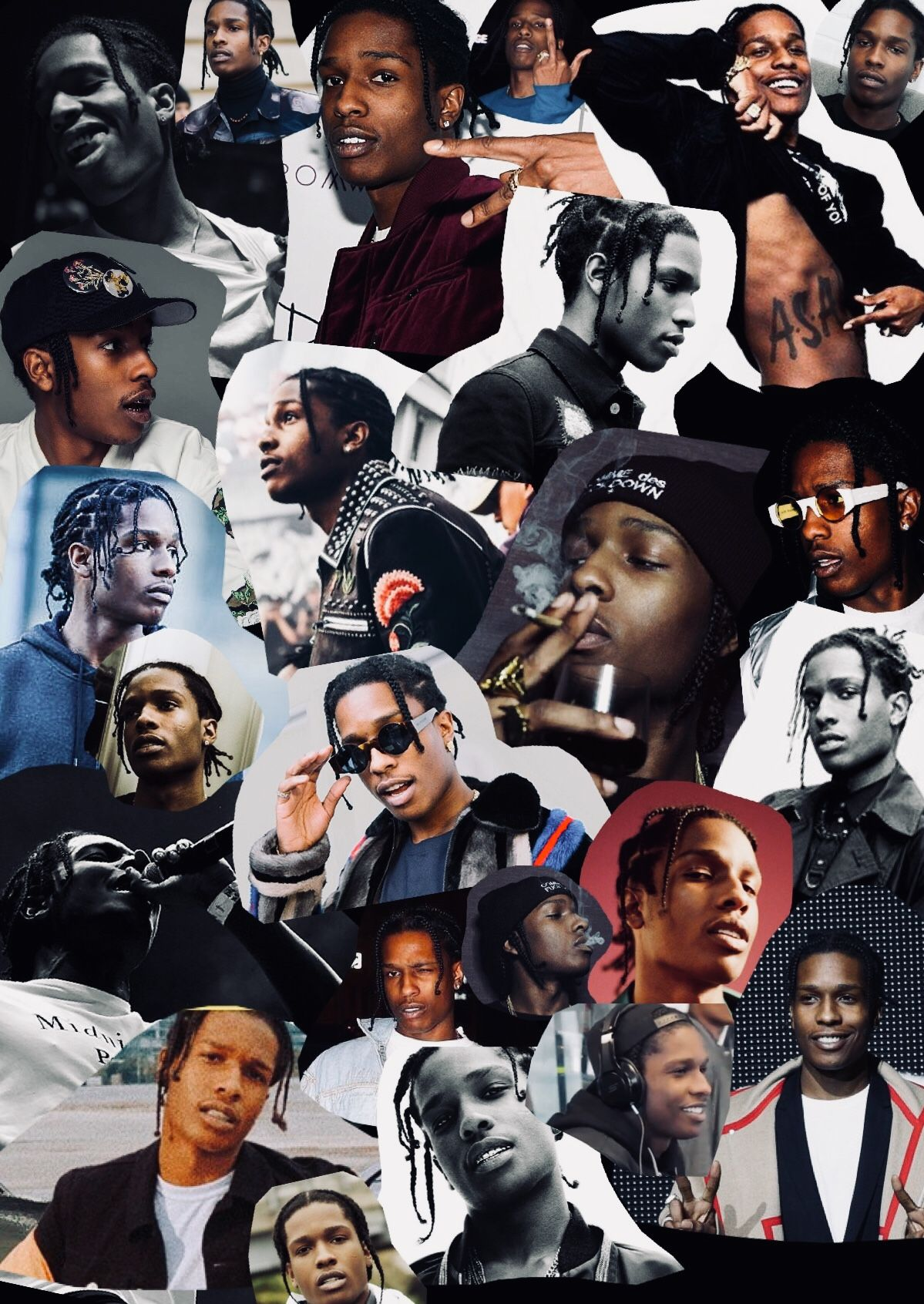 Pinterestqueenntyyy snapchat shabba racks pretty flacko - Asap wallpaper ...
