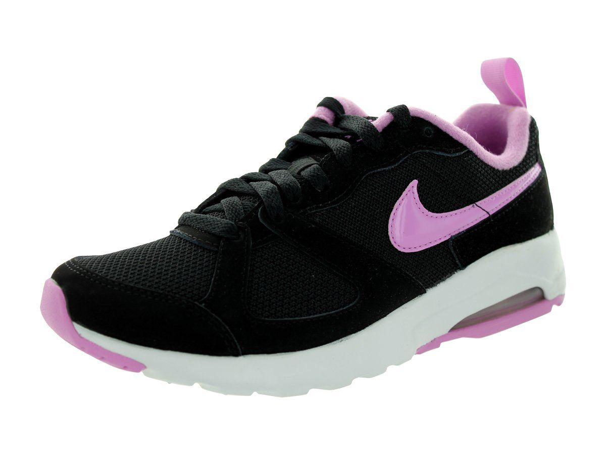Nike Women s Air Max Muse Black Light Magenta Pure Platinum Running Shoe 6  Women US 07d1036f2
