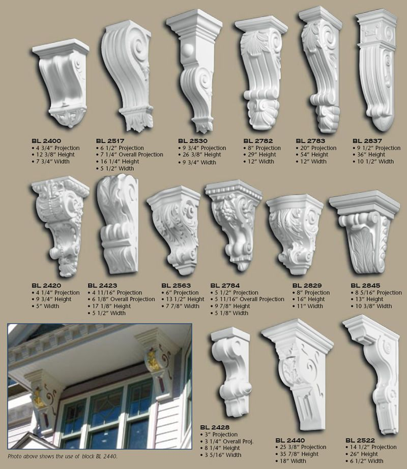 100 Polyurethane Corbels Pg 1 Corbels Pinterest Moldings Front Entry And House