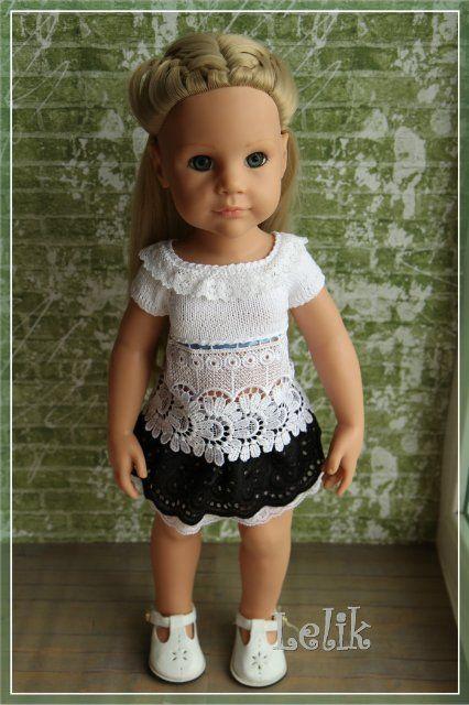 Кофточку для куклы своими руками 458