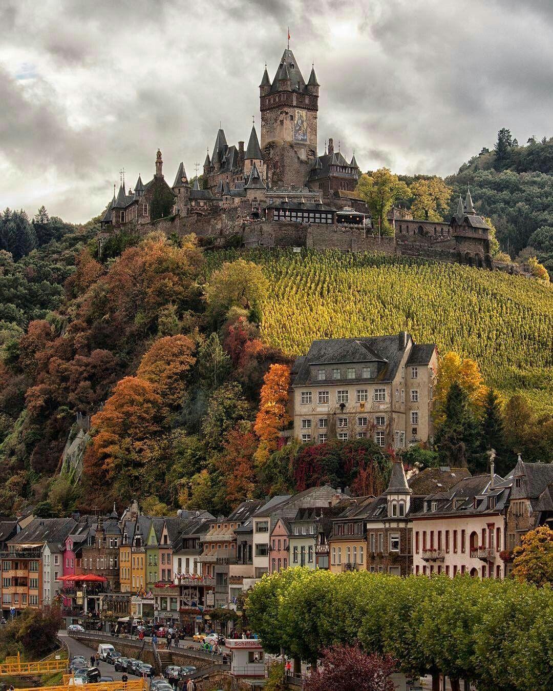 Germany Germany Castles Cochem Castle On The Hill
