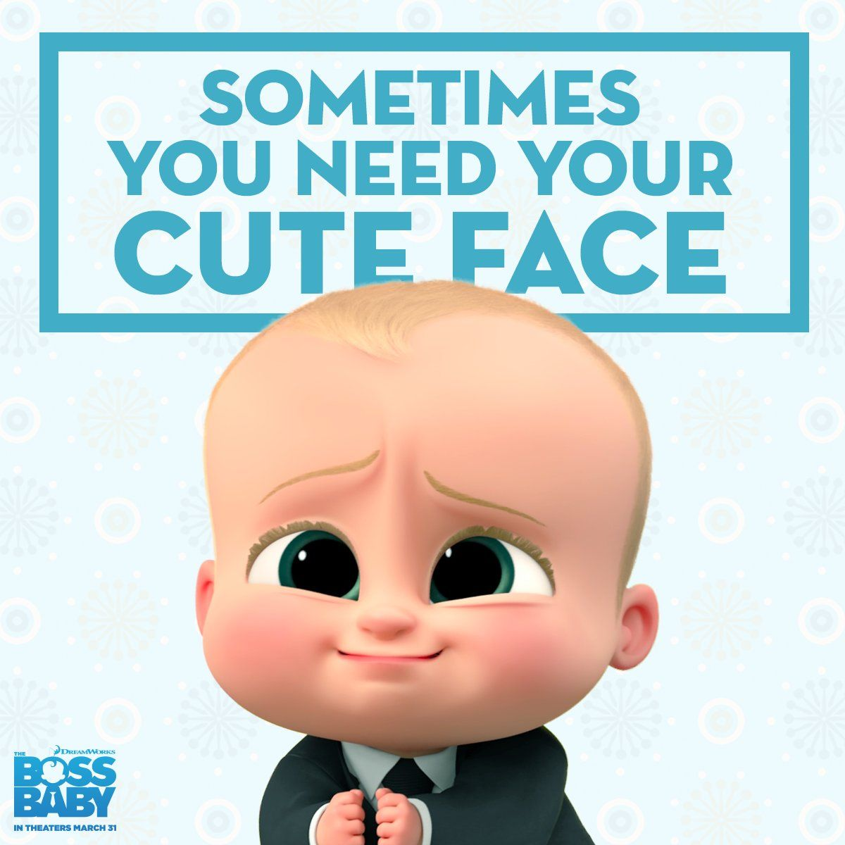 Dreamworks Animation On Twitter Boss Baby Baby Posters Baby Movie