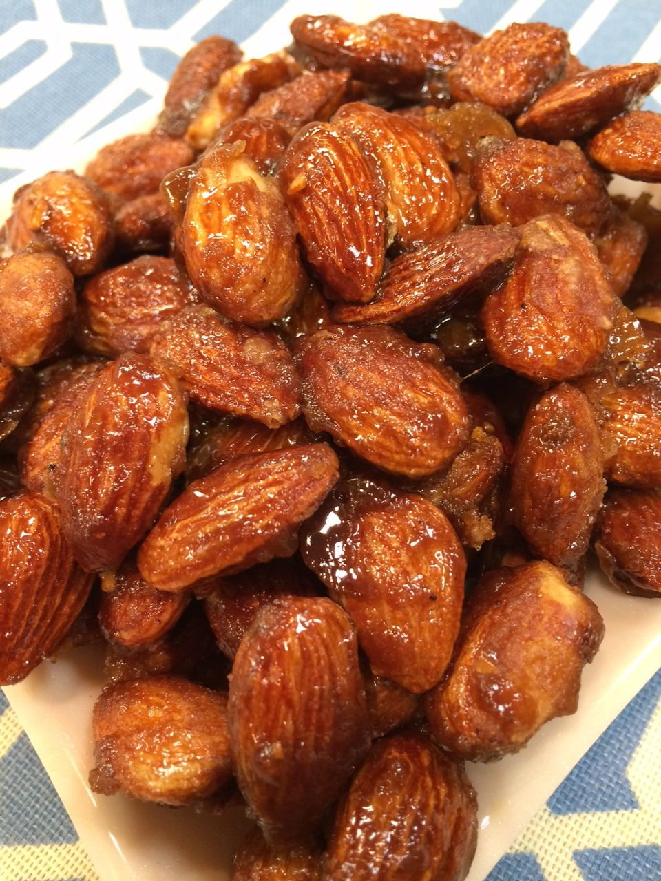 Spicy Raspberry Balsamic Glazed Rosemary Candied Almonds My Recipe