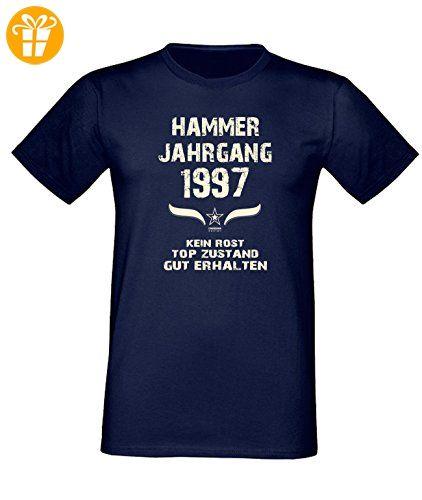 Sprüche Fun T-Shirt Jubiläums-Geschenk zum 20. Geburtstag Hammer Jahrgang  1997 in